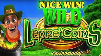 WILD Lepre'Coins Slot - *NICE WIN* - Slot Machine Bonus