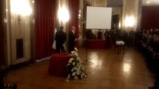 DRAGIŠA GOLUBOVIĆ obraćanje, Skupština grada Beograda, komemoracija Šabanu Šauliću