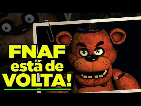 FNAF: NOVO GAME ANUNCIADO! Como vai SER? (Five Nights at Freddy's) thumbnail