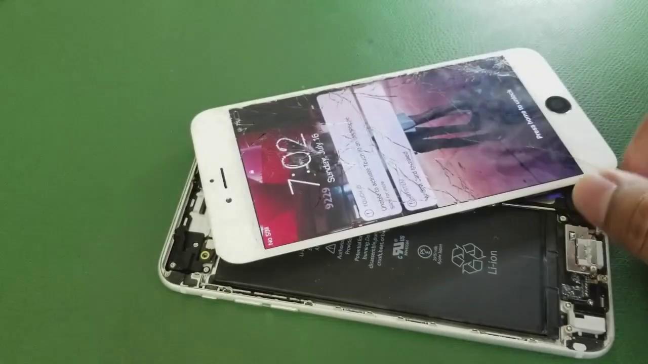 iPhone 6 Plus Lineas en la Pantalla y no Responde Para que No ...
