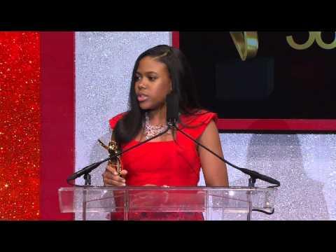 Gabrielle Jordan Williams - The 2014 365Black Awards Acceptance Speech