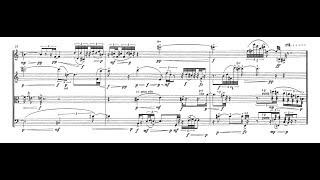Pascal Dusapin - Time Zones (1989) Quatuor à cordes n° 2