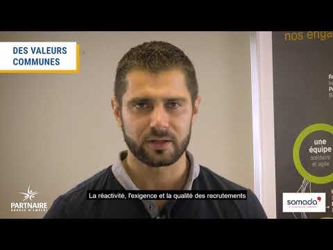 Les témoignages Partnaire - Mickaël Lozachmeur de l'entreprise Samada