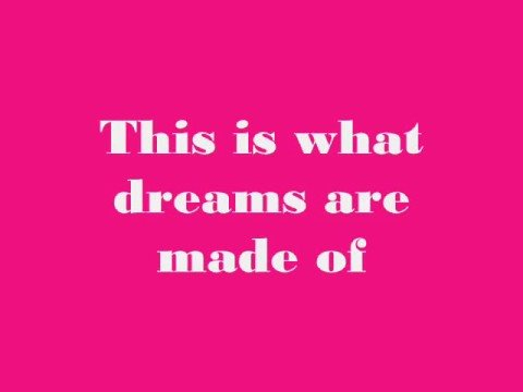 Hilary Duff-What Dreams Are Made Of (With Lyrics)