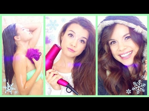 My Winter Shower + Hair Routine!