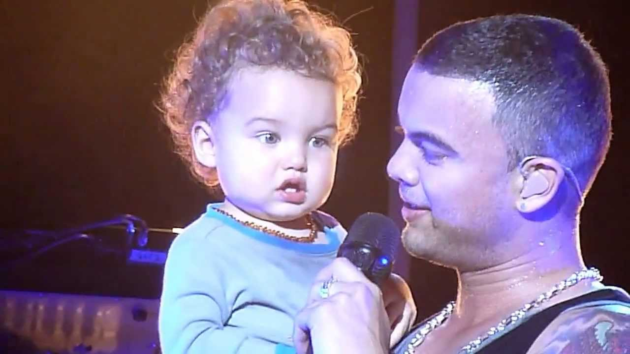 Photo of Guy Sebastian & his  Son  Hudson James Sebastian