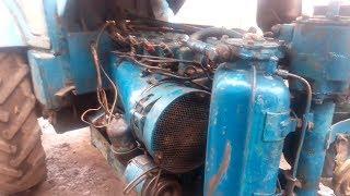 Сборка двигателя трактора т 40, запуск двигателя после ремонта