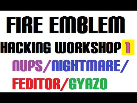 Fire Emblem Hacking Workshop/Tutorial. Nightmare, Feditor