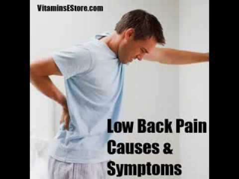 low back pain causes symptoms risk factors and