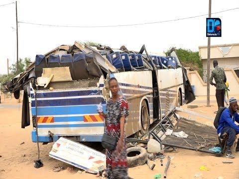 Accident sur la route de Kahone: 5 morts et plusieurs blessés