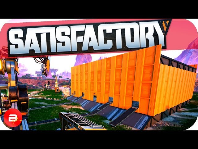 Building an All-In-One Factory in Satisfactory! (Satisfactory Gameplay)