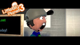 LittleBigPlanet 3 - David's Teleporting Adventure [Film/Animation]