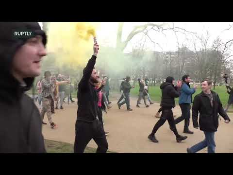 LIVE: Londoners join worldwide anti-lockdown protests