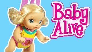 Emekleyen Oyuncak Bebek | Bebek Bakma Oyunu | Baby Alive Türkçe tanıtım | Evcilik TV