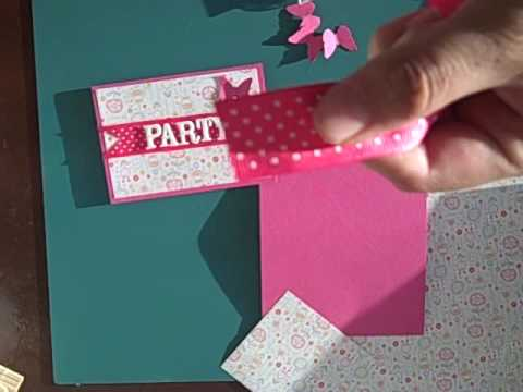 How to make 5 inexpensive birthday invitations 2 of 2 youtube filmwisefo Image collections