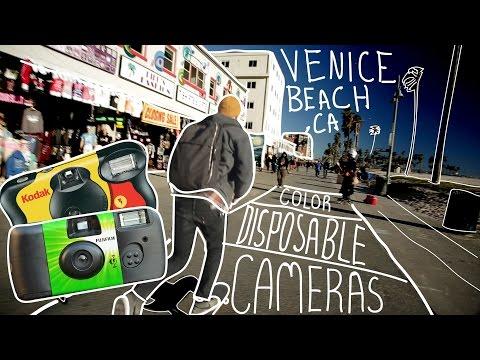 Color Disposable Cameras in Venice Beach, CA - Awesome Cameras Under $20