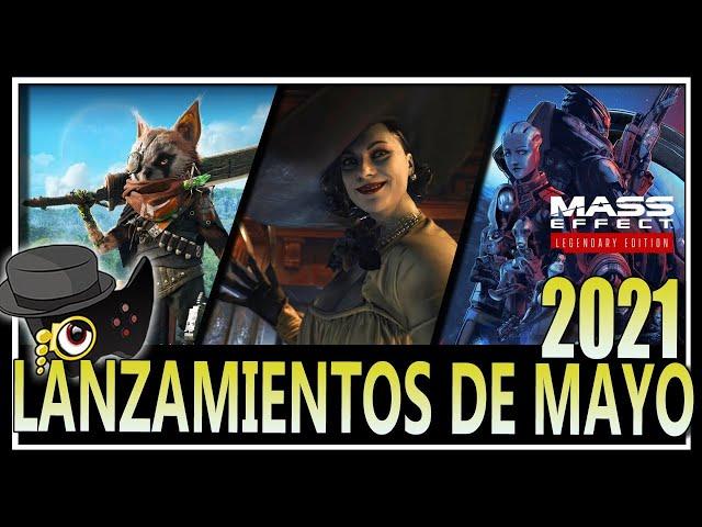 LANZAMIENTOS VIDEOJUEGUILES PARA MAYO 2021 -UN MES CARGADO-