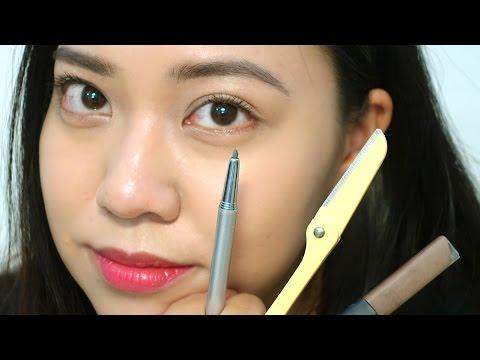 Định hình chân mày dáng tự nhiên | The Kick-Ass Red Lipstick