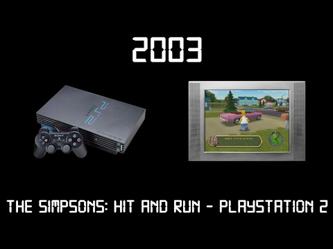 Gaming Through The Ages Phase 1 - 2003 - The Simpsons: Hit & Run - Playstation 2
