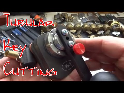 (257) How to Pick, Decode & Cut a Key for a Tubular Lock