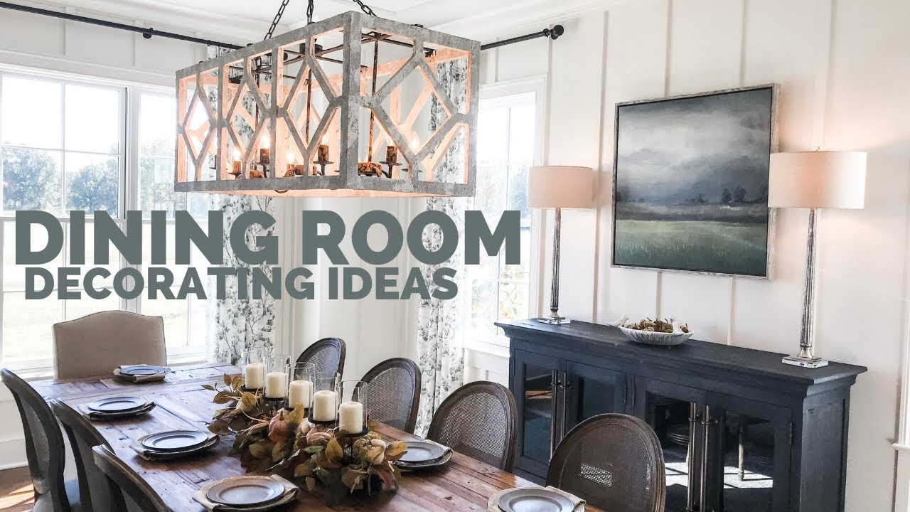 Dining Room Decorating Ideas Design
