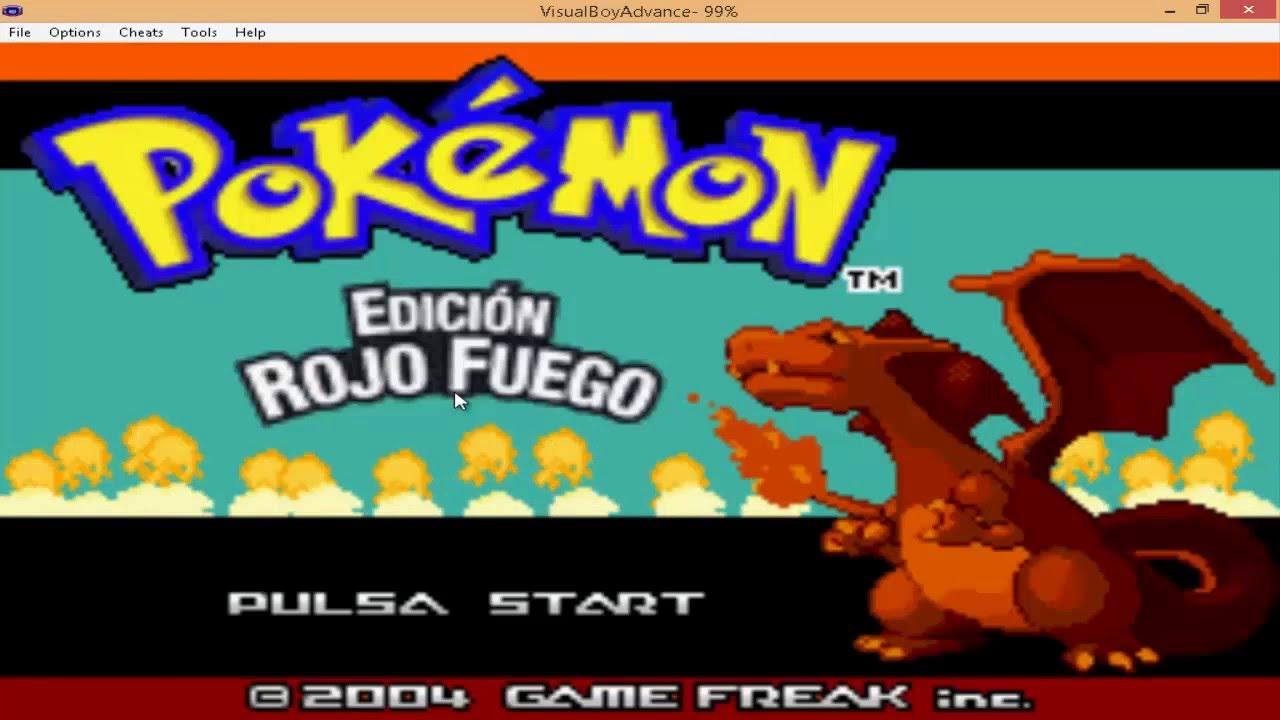 Como Descargar Pokemon Rojo Fuego Full En Español Pc Youtube