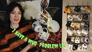 My Halloween Mug Collection! 🎃☕