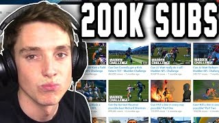 200k SUBSCRIBERS + Watching Old Videos!
