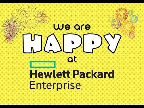 Hewlett Packard Enterprise HAPPINESS