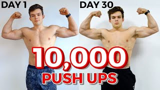 I Did 10,000 Push ups in 30 Days, These Are The Results | 333 Push ups a day