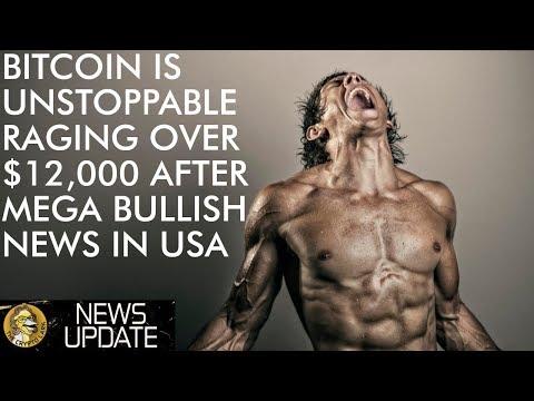Mega Bullish Bitcoin News As Price Crosses $12,000