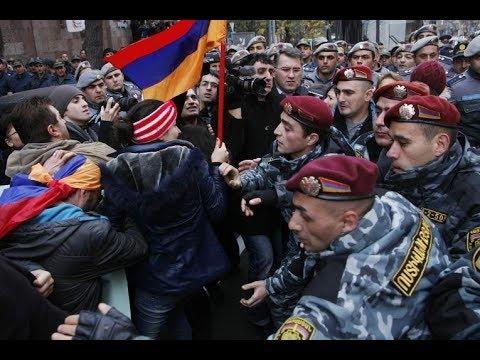 Протесты в Ереване. Армения на пороге революции? Пограничная ZONA STV