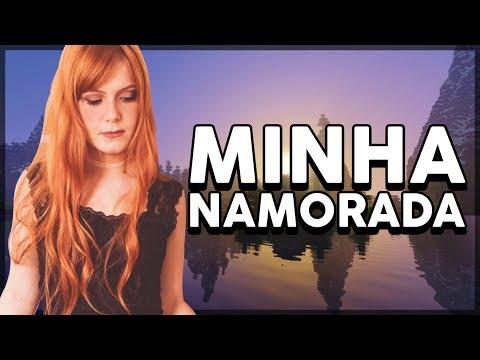 A PRIMEIRA VEZ DA MINHA NAMORADA NO MINECRAFT!!!
