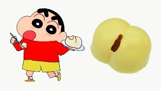 Японский набор из порошка: Пудинговая попа - Crayon Shin Chan Butt Pudding  Вкусняшки
