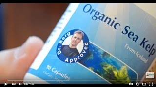 Dr. Berg's Organic Sea Kelp (Icelandic): and how to use it