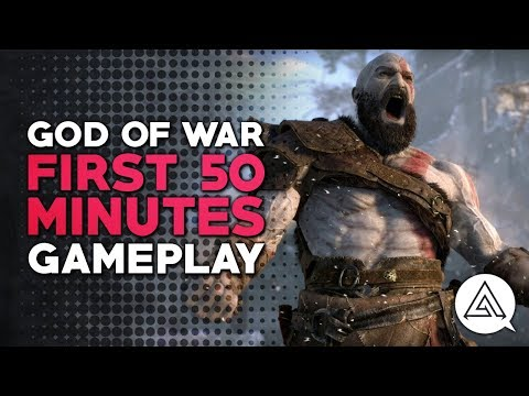First 50 Minutes of God of War Gameplay - Part 1 | PS4 Pro