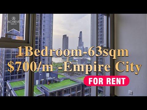 Linden Residences - Empire City 1 Bedroom FOR RENT Unfurnished 63sqm | 700$/Month | +84868882539