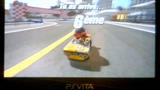 Test de ModNation Racers PSvita