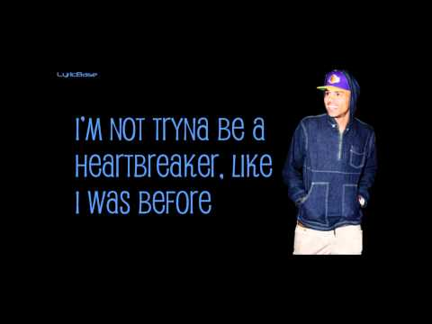 Chris Brown  Up To You Lyrics