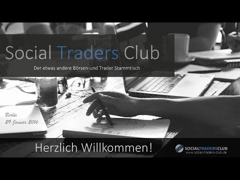 Social Traders Club  Börsen/Trader Stammtisch Berlin 29.01.2016
