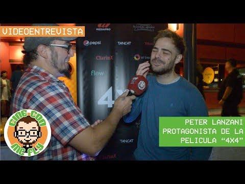 "VideoEntrevista Peter Lanzani  Protagonista de ""4x4"""