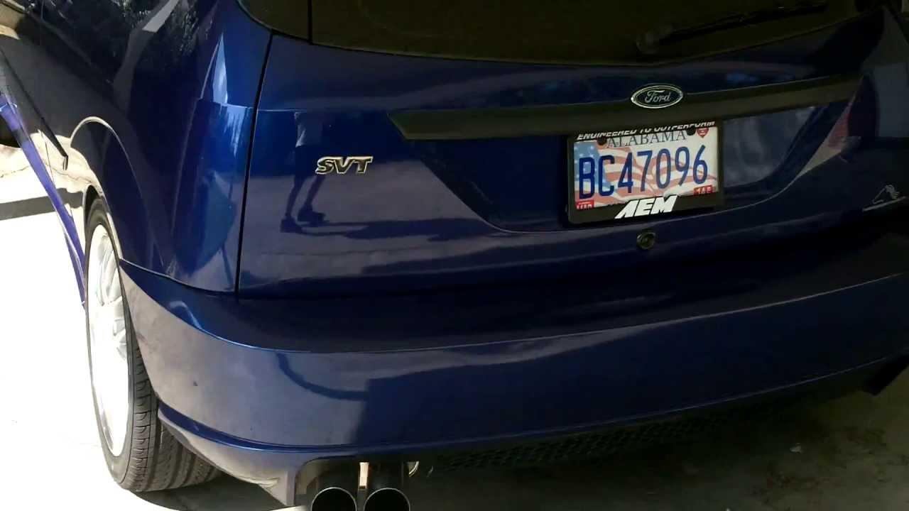 My 2002 ford focus svt