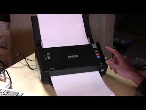 Epson DS-510 Workforce Document Scanner - Compared to Fujitsu Scansnap ix500