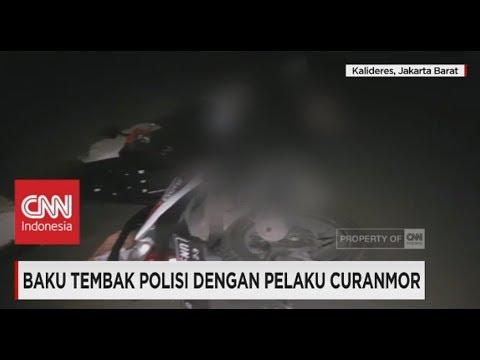 Baku Tembak Dengan Polisi, Pelaku Curanmor Tewas Tersungkur Mp3