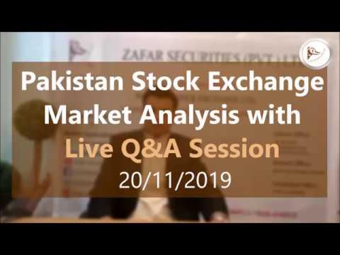 Pakistan Stock Exchange Tips And KSE 100 Index Market Summary (in Urdu) 20 November 2019