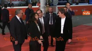 Virginia Raggi sfila sul Red Carpet della Festa del Cinema