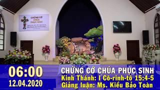 HTTL PHAN RANG - Chương Trình Lễ Kỷ Niệm Mừng Chúa Phục Sinh - 2020