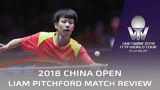 2018 China Open Highlights | Tomokazu Harimoto vs Lin Gaoyuan (R16)