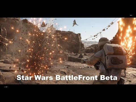 Star Wars Battlefront Beta [4K] Hands On +( Code Giveaway Closed)