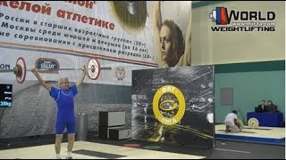 БУСЫГИН/BUSYGIN (56,М-80) 30-35х-35/35-40-45х. Russian Championships Masters 02-06.03.2016.